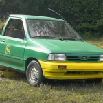 Lawnmower Car Is A Revolutionary Ford Festiva In Disguise